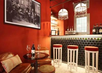 Wine bar – Mezzo Litro <br> Florence